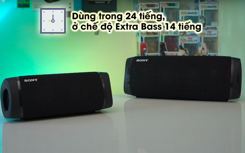 Pin Loa bluetooth Sony SRS-XB33