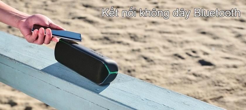 SRS-XB32 Extra Bass được trang bị công nghệ kết nối không dây Bluetooth
