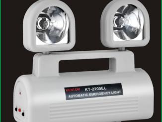 Hình: Đèn sạc chiếu sáng khẩn cấp KENTOM KT 2200EL