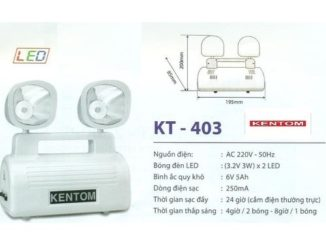 Đèn Kentom KT403